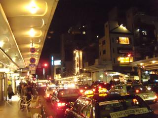 夜の京都市街