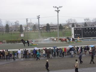 第1レース 最後の直線