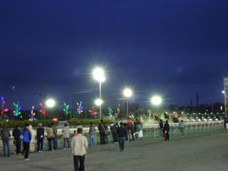 夜の帯広競馬場