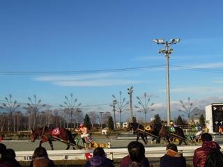 第2レース 最後の直線