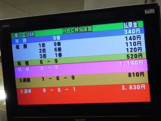 第10レース 結果
