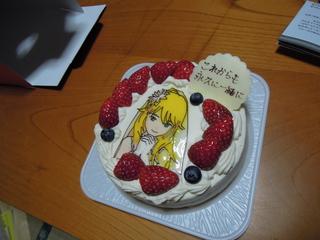 美希ケーキ(穴掘りP提供)