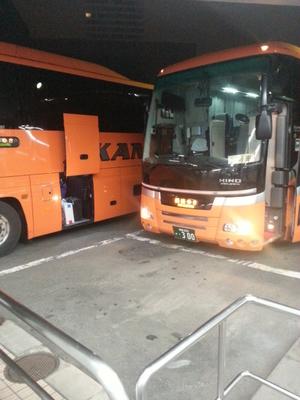 釧路行き夜行バス