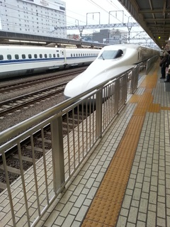 静岡駅から新幹線乗車
