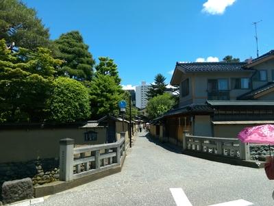 金沢の武家屋敷街
