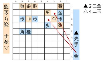 詰将棋「ミオ」図4