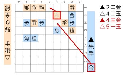詰将棋「ミオ」図5