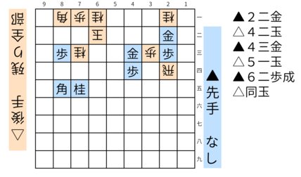 詰将棋「ミオ」図8