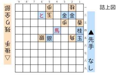詰将棋「ミウ」図11