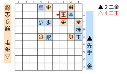 詰将棋「ミウ」図5