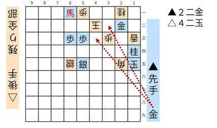 詰将棋「ミウ」図6